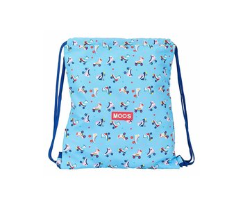MOOS Gymbag Rollers 38 x 34 cm