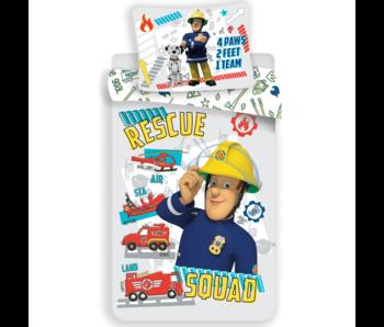 Brandweerman Sam BABY duvet cover 100 x 135 cm 40 x 60 cm cotton