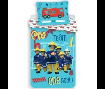 Brandweerman Sam duvet cover Team 140 x 200 cm 70 x 90 cm cotton