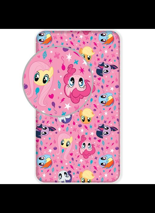 My Little Pony Hoeslaken Roze 90 x 200 cm Katoen