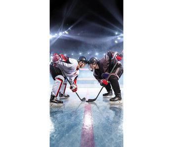IJshockey serviette de plage 70 x 140 cm coton