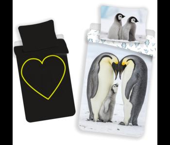 Animal Pictures Duvet cover Penguin Glow in the Dark 140 x 200 Cotton