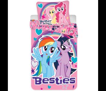 My Little Pony Dekbedovertrek Besties 140 x 200 Katoen