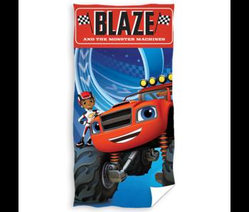 Blaze Serviette de plage Monster Machines 70 x 140 cm Coton