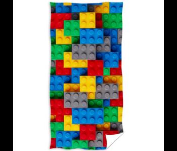 Bricks Strandlaken 70 x 140 cm Katoen