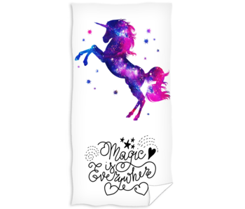 Unicorn Beach towel 70 x 140 cm cotton