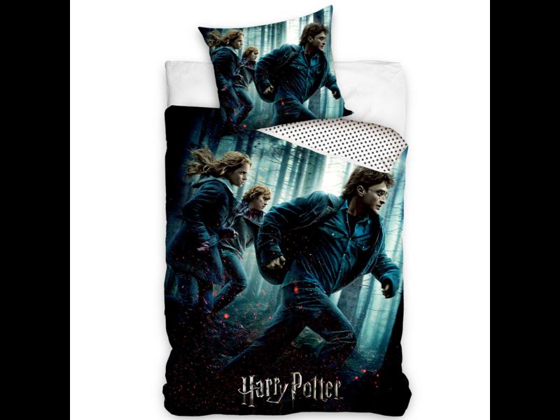 Harry Potter Housse de couette - Simple - 140 x 200 cm - Coton