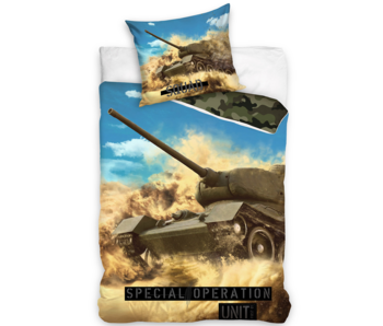 Tank Housse de couette Special Operations Unit 140 x 200 Coton