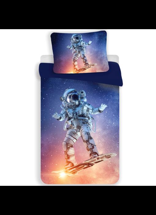 Astronaut Dekbedovertrek Spaceboard Champion 140 x 200 Polyester
