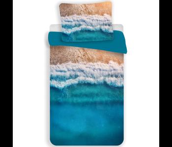 Beach Dekbedovertrek Tropical Holiday 140 x 200 Polyester