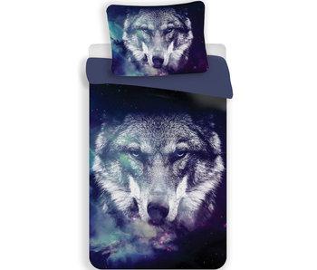 Animal Pictures Dekbedovertrek Wolf 140 x 200 Polyester