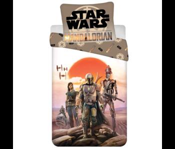 Star Wars Dekbedovertrek Mandalorian 140 x 200 Katoen