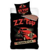 ZZ Top Housse de couette Eliminator - Simple - 140 x 200 cm - Coton
