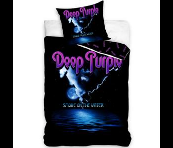 Deep Purple Dekbedovertrek Smoke on the Water 140 x 200 Katoen