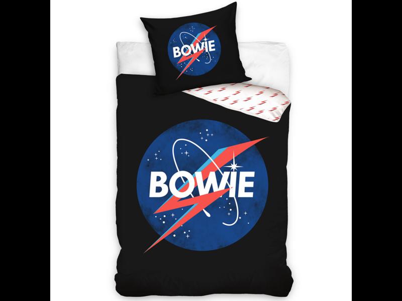 David Bowie Dekbedovertrek Ziggy Stardust - Eenpersoons - 140  x 200 cm - Katoen