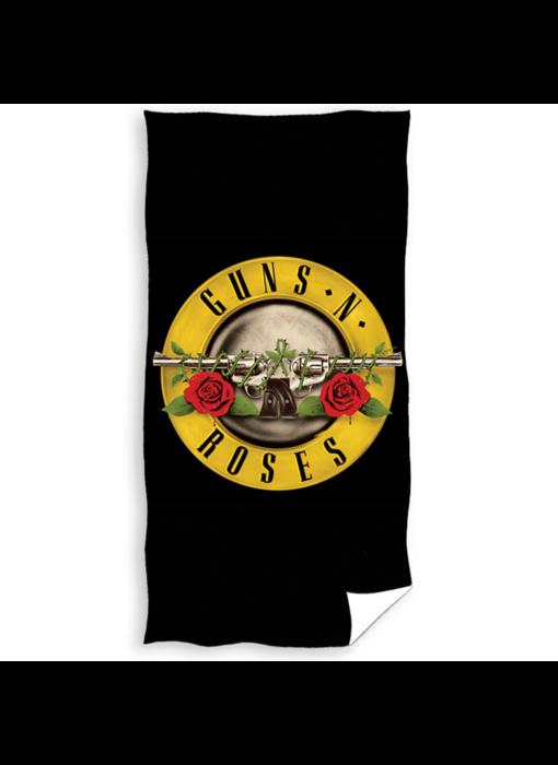 Guns n Roses Strandlaken Logo 70 x 140 cm Katoen