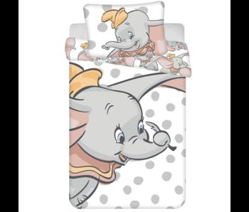 Disney Dumbo BÉBÉ Housse de couette Pois 100 x 135 cm