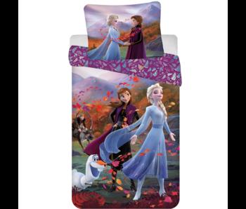 Disney Frozen Duvet cover Wind 140 x 200 Cotton