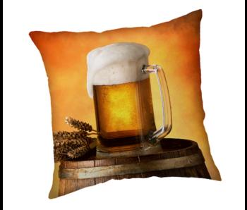 Bier Kussen Pul 40 x 40 cm