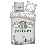 Friends Housse de couette Central Perk - Simple - 140 x 200 cm - Coton