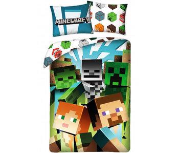 Minecraft Housse de couette Block 140 x 200 cm Coton