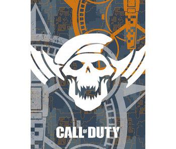 Call of Duty Couverture polaire Crâne 130 x 170 cm