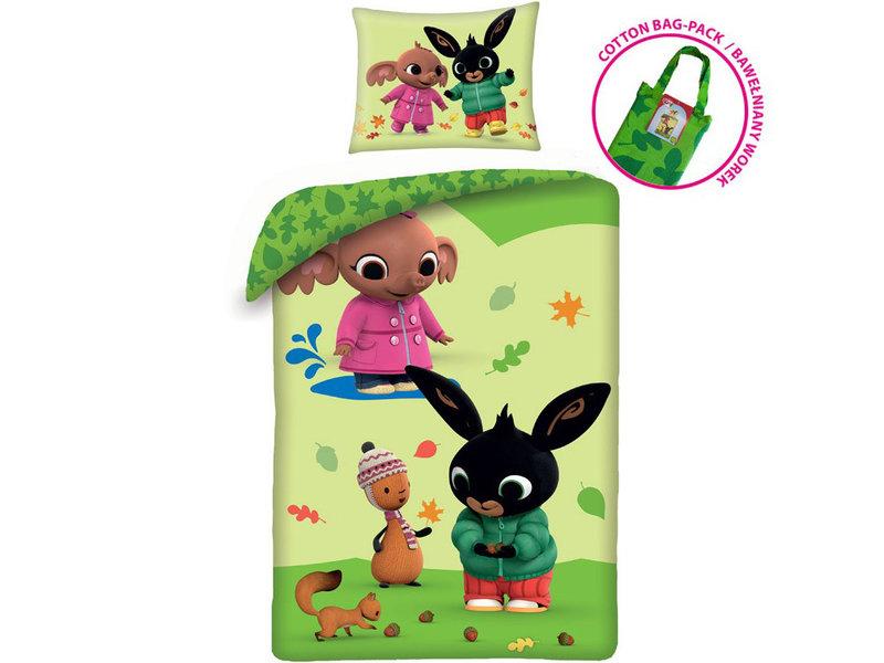 Bing Bunny BABY Dekbedovertrek Fall - 100 x 135 cm - Katoen