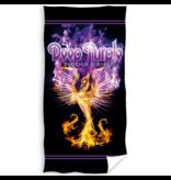 Deep Purple Strandlaken Phoenix Rising - 70 x 140 cm - Katoen
