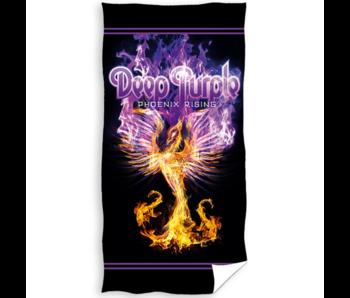 Deep Purple Strandlaken Phoenix Rising 70 x 140 Katoen