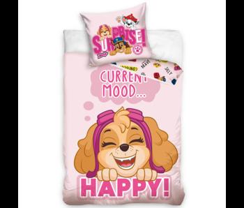 PAW Patrol Housse de couette Happy Mood 140 x 200 cm Coton