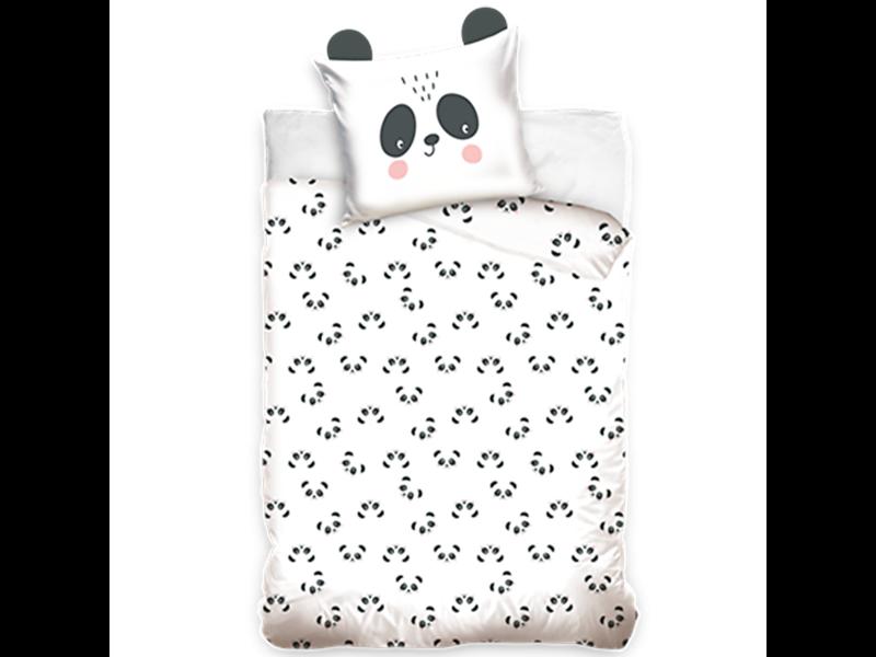 Panda Housse de couette - Simple - 140 x 200 cm - Coton