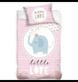 Animal Pictures Housse de couette BABY Little Love - 100 x 135 cm - Coton