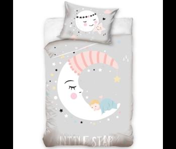 BÉBÉ Housse de couette Petite étoile 100 x 135 cm