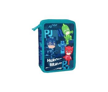 PJ Masks Étui à crayons rempli Heroic - 31 pcs.