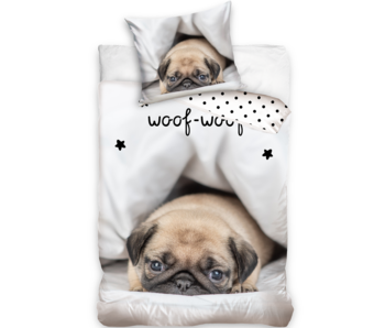 Animal Pictures Housse de couette Woof-Woof 140 x 200 Coton
