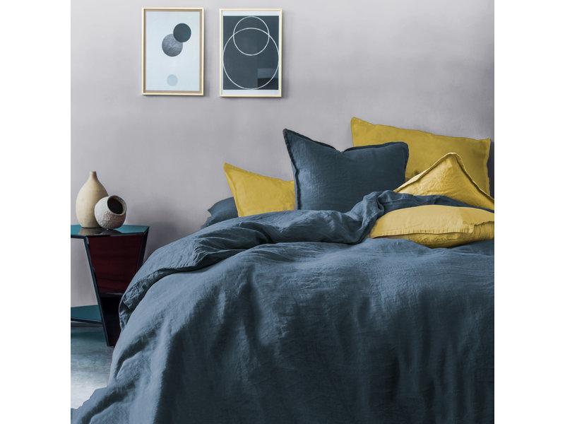 Matt & Rose Set Pillowcases Navy - 50 x 70 cm - 100% Linen