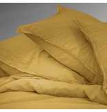 Matt & Rose Housse de couette Safran - Twin Jumeaux - 240 x 220 cm + 2x 50 x 70 - 100% Lin
