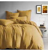 Matt & Rose Housse de couette Safran - Format hôtel - 260 x 240 cm, sans taies d'oreiller - 100% Lin