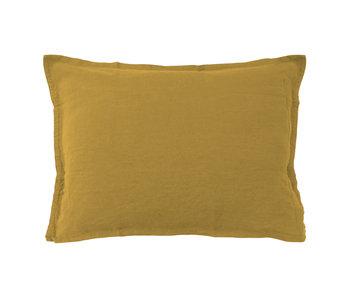 Matt & Rose Set Pillowcases Saffron 50 x 70 cm Linen