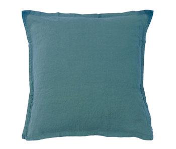 Matt & Rose Set Pillowcases Green 65 x 65 cm Linen