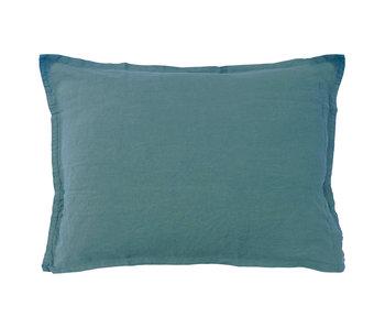 Matt & Rose Set Pillowcases Green 50 x 70 cm Linen