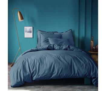 Matt & Rose Housse de couette Bleu 260 x 240 ZS Coton Lavé