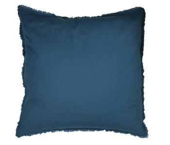 Matt & Rose Set Kissenbezüge Blau 65 x 65 cm Baumwolle gewaschen