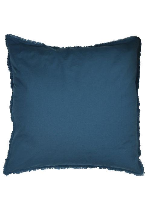 Matt & Rose Set Kussenslopen Blauw 65 x 65 cm Gewassen Katoen