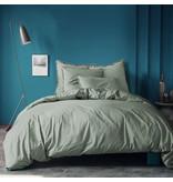 Matt & Rose Housse de couette Vert - Simple - 140 x 200 cm, sans taies d'oreiller - Coton