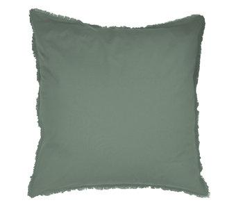 Matt & Rose Set Kissenbezüge Grün 65 x 65 cm Baumwolle gewaschen