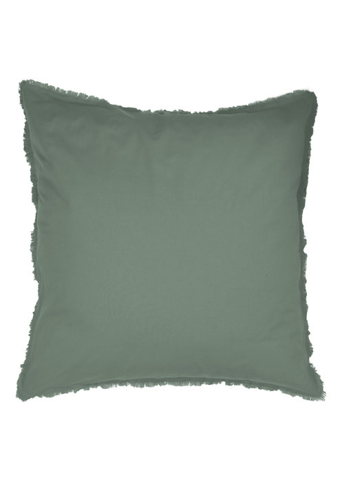 Matt & Rose Set Pillowcases Green 65 x 65 cm Washed Cotton