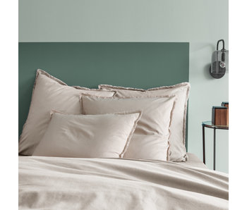 Matt & Rose Duvet cover Beige 200 x 200 + 65 x 65 Washed cotton
