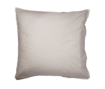Matt & Rose Set Pillowcases Beige 65 x 65 cm Washed Cotton