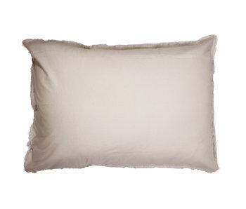 Matt & Rose Set Pillowcases Beige 50 x 70 cm Washed Cotton